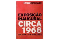 Museu Serralves / Circa. 1968 exhibition poster. Oporto, Portugal. 1999