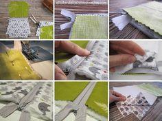 DIY Tutorial cómo hacer un neceser con cremallera | el taller de las cosas bonitas