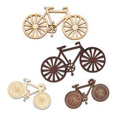 Bicycle Wood Veneer Shapes - OrientalTrading.com