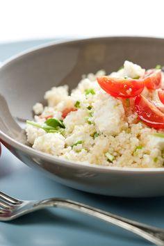 Fresh Mozzarella, Tomato, and Basil Couscous Salad Recipe