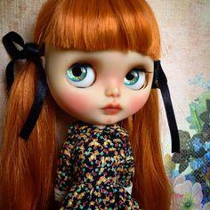 Custom Blythe Doll by Blythe & Shine OOAK by BlytheandShine