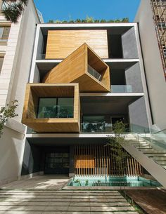 The architecture of any home is usually extroverted or introverted in equal measure, but the interior of the Sharifi-ha residence in Tehran can become its façade and its façade can become the interior.