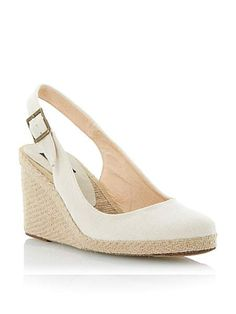 a0f1fa12e66607 Imperia D Natural wedges in stock at House of Fraser Neutral Espadrilles