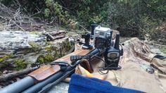 Vazgeçilmezlerim bir arada: Doğa, Tüfeğim, Kameram ve Bıcağım gerisi teferruat diyebirim.