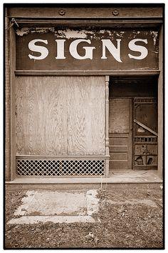 Old Sign Shop - St. Louis, Missouri by rodinal1