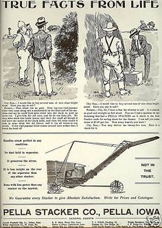 1903 PELLA STACKER CO ad | eBay