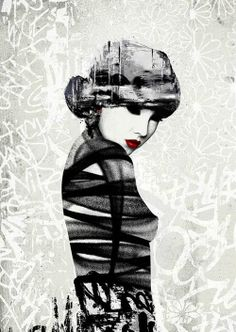 HUSH. #hush http://www.widewalls.ch/artist/hush/