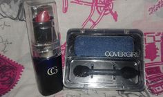 COVER GIRL LIPSTICK & EYESHADOW LOT OF TWO #COVERGIRL