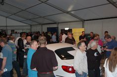 Bees Marquees were proud to supply the marquees for a Trade Show open evening for Unipart Automative in Fareham, Hampshire