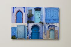 Monokrom väggdekoration: en färg, flera möjligheter   Önskefoto Blogg Monochrome, Bookends, Photo Galleries, Gallery, Inspiration, Canvas, Garden, Home Decor, Pictures