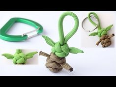 Best Pictures Macrame projects baby Style DIY Baby Yoda Inspired Paracord Keychain/Figure/Buddy-Diamond/West Country Whipping Knot-CBYS – Y Paracord Diy, Paracord Braids, Paracord Tutorial, Paracord Keychain, Diy Keychain, Keychain Ideas, Paracord Ideas, Rope Crafts, Diy And Crafts