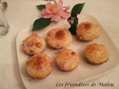 Les friandises de Malou: ♥ Cupcakes jambon & fromage ♥