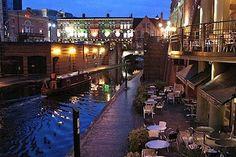 Birmingham City Of Birmingham, Birmingham England, Birmingham Alabama, Brindley Place, Places To Travel, Places To Go, West Midlands, England Uk, Where To Go