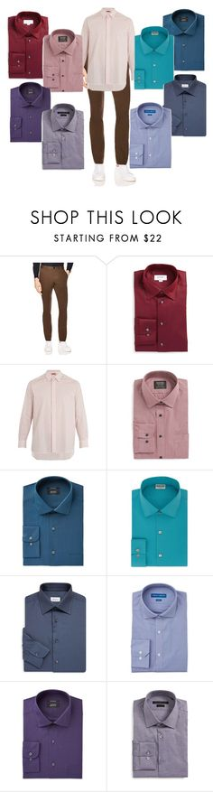 """""""Kai's Zyla Colors with Second Base Neutral"""" by lora-86 on Polyvore featuring Sandro, ETON, Barena, Nordstrom, Alfani, Kenneth Cole Reaction, Brioni, Vince Camuto, John Varvatos * U.S.A. and men's fashion"""