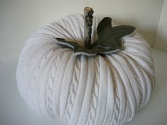 I first saw the idea for these on Craftaholics Anonymous . I have already confessed my pumpkin addiction but can I just say how giddy whi...