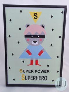 Poster 'Superhero' / Plakat 'Superbohater'