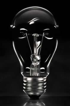 """From the """"light bulbs"""" series, by William Castellana."""