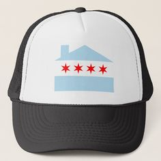 The birthplace of House music and the Chicago flag.a simple and demonstrative illustration. Size: one size. Color: White and Black. Chicago House, Doll Games, Memphis May Fire, Austin Carlile, Simple Interior, Chicago Shopping, Mayday Parade, House Flags, Good House