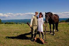Julie & Paul's farm fresh and sassy wedding