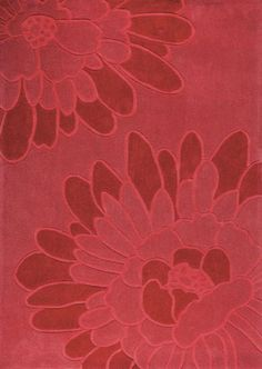 VIVACE FLOREAL 160x230 - RED