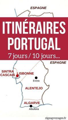 Portugal Voyage - Guide pratique pour planifier votre Road Trip au Portugal avec des conseils et des suggestions d'itinéraires au Portugla pour 1 semaine, 10 jours où plus | Portugal itinéraire | Portugal vacances #Portugal