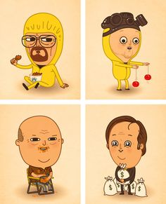 """Breaking Bad"" Art From Mike Mitchell was released in line with the series' conclusion on Sunday night. Grab a piece for the office or perhaps giftage."