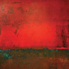 """""""Blue"""" by Mark Bettis 42x42 Oil on panel markbettisart.com"""