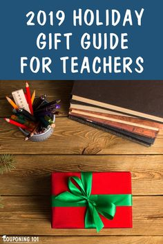 Finding the right holiday gift can show a teacher that you appreciate all their hard work. In this guide, we'll share some gift ideas that your child's teachers may love.