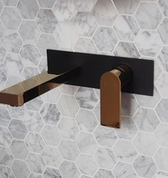 Stylish Tapware for your Bathroom . In wall TAP for bath Tub and basins. Black / Rose Gold features will brighten and modernise your space. Combination of High quality components with up to date design. Bath Shower Mixer Taps, Bath Mixer, Bath Tub, Gold Taps, Gold Faucet, Gold Shower, Matte Gold, Matte Black, Bathroom Basin