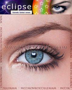 Eclipse Light Blue Contact Lenses