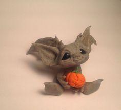 Sure, cute, but interesting: Original Goblin Troll Fairy  Baby Gargoyle  by HedegaardsWhimsies
