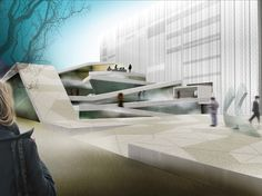 Italian architect Alberto Catalano of Teknoarch has just won the international competition to design the New Arts and Culture House in Beirut,. Big Architects, Culture, Beirut, Sustainable Design, Urban Design, Home Art, New Art, Architecture Design, Design Inspiration