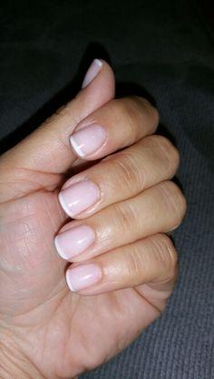 Thin french manicure. by Maria Padilla-Cuba