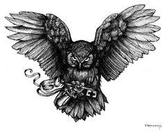 Sketch Tattoo Design, Owl Tattoo Design, Tattoo Sketches, Tattoo Designs, Chest Piece Tattoos, Chest Tattoo, Body Art Tattoos, Sleeve Tattoos, Sister Tattoos