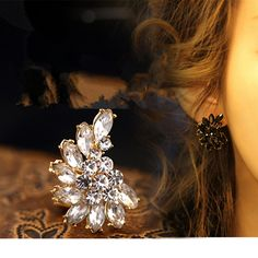 Neue frauen fashion style mond ohrringe ohrringe weibliche modelle der high-end edlen schmuck großhandel