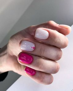 50 Coolest Spring Nail Designs to Try Now,spring nails nailsacrylic,spring nails colors,spring nails coffin Love Nails, Fun Nails, Pretty Nails, Pin On, Minimalist Nails, Design Blog, Design Ideas, Stylish Nails, Cool Nail Designs