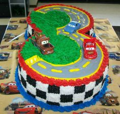 Cool Cars cake...I need someone to make this for Hayden's 3rd birthday:) HINT HINT....you have until October:)