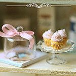 Dollhouse Cupcakes 1:12 Scale by Pei Li's Miniatures