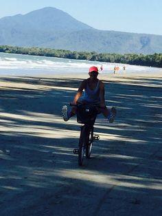 Port Douglas Four Mile Beach bike riding