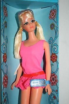 Vintage 1969 Blonde New N' Groovy PJ TNT Barbie #1118 NRFB W/TAG (MINT)