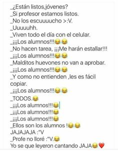 Read 35 from the story Memes sobre la escuela by with reads. Funny Spanish Memes, Spanish Humor, Funny Jokes, Wattpad, New Memes, Naha, Funny Pictures, Instagram, Random