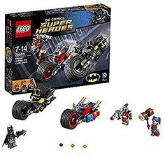 LEGO DC Super Heroes Batman Minifigure 76053 Gotham City Cycle Chase for sale online Gotham City, Harley Quinn, Deadshot, Dc Comics, Legos, Batman Batarang, Lego Hogwarts, Lego Space Sets, Bionicle Heroes