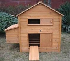 door...need a more sturdy design for the hen's door to the run.