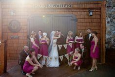 'Just Married' Burlap Bunting Banner :  wedding Burlapbanner