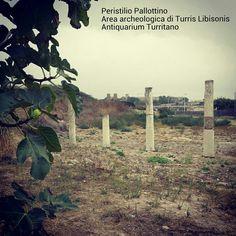 Peristilio Pallottino. Area archeologica di Turris Libisonis.  Antiquarium Turritano. Fine III-inizi IV sec. d. C.