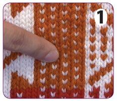 Steeking - How to Knit Tutorials from KnitPicks.com
