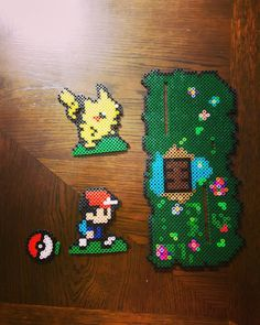 Pokemon Go hama beads by dethbella