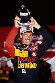 NASCAR Race Mom - Due to a racing incident, Davey Allison had to spent the night in the hospital, recovering, instead of celebrating in Victory Lane with his team. Nascar Sprint Cup, Nascar Racing, Auto Racing, Nascar News, Olympic Games Sports, Racing News, Motor Speedway, Dale Earnhardt Jr, All Star