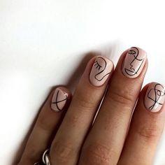 45 Gorgeous Nail Art Designs Ideas For Short Nails Minimalist Nails, Nail Design Games, Nail Designs, Simple Nail Art Designs, Perfect Nails, Gorgeous Nails, Nail Design Glitter, Hello Kitty Nails, Nagellack Trends