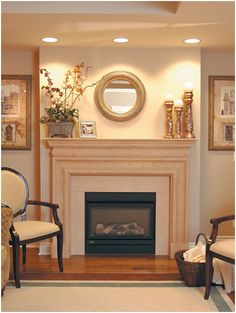 Fireplace Mantels in Simple View How to Accessorize Fireplace Mantels in Tuscan